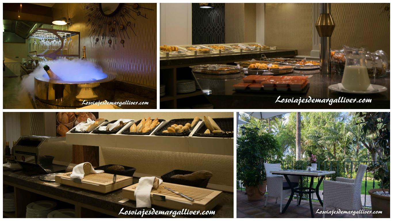 Desayuno Buffet en el Hotel los Monteros en Marbella